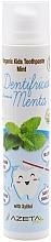 Parfémy, Parfumerie, kosmetika Dětská zubní pasta Máta - Azeta Bio Organic Kids Toothpaste Mint