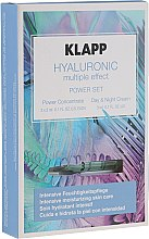 Parfémy, Parfumerie, kosmetika Sada - Klapp Hyaluronic Multiple Effect Power Set (f/conc/3x2ml + f/cr/3ml)