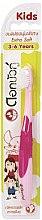 Parfémy, Parfumerie, kosmetika Dětský ultra měkký zubní kartáček, růžový - Twin Lotus Dok Bua Ku Kids Toothbrush ExtraSoft