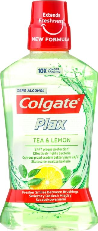 "Ustní voda ""Čaj a citron"" - Colgate Plax Tea&Lemon — foto N1"
