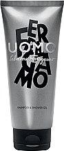 Parfémy, Parfumerie, kosmetika Salvatore Ferragamo Uomo - Sprchový gel