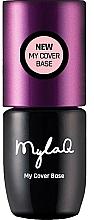Parfémy, Parfumerie, kosmetika Podkladová báze pod gel lak - MylaQ My Cover Base