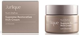 Parfémy, Parfumerie, kosmetika Intenzivní pleťový krém proti stárnutí pro obnovu pružnosti pokožky obličeje - Jurlique Nutri-Define Supreme Restorative Rich Cream