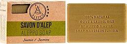 """Parfémy, Parfumerie, kosmetika Aleppské mýdlo """"Jasmín"""" - Alepeo Aleppo Soap Jasmine 8%"""