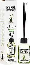 Parfémy, Parfumerie, kosmetika Aroma difuzér Konvalinka - Eyfel Perfume Reed Diffuser Snowdrop