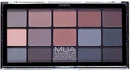 Parfémy, Parfumerie, kosmetika Paleta očních stínů - MUA 15 Shade Eyeshadow Palette