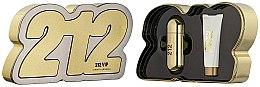 Parfémy, Parfumerie, kosmetika Carolina Herrera 212 VIP - Sada (edp/80ml + b/lot/100ml)