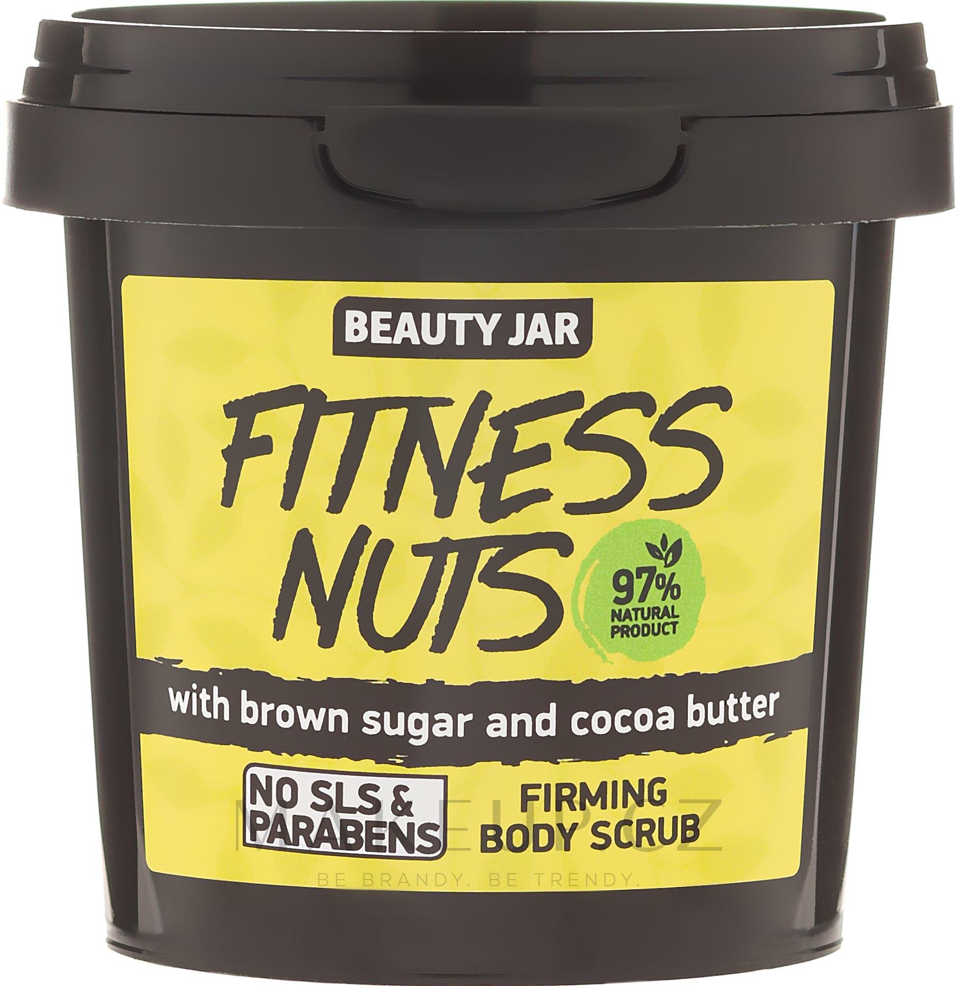"""Tělový peeling zpevňující """"Fitness Nuts"""" - Beauty Jar Firming Body Scrub — foto 200 g"""