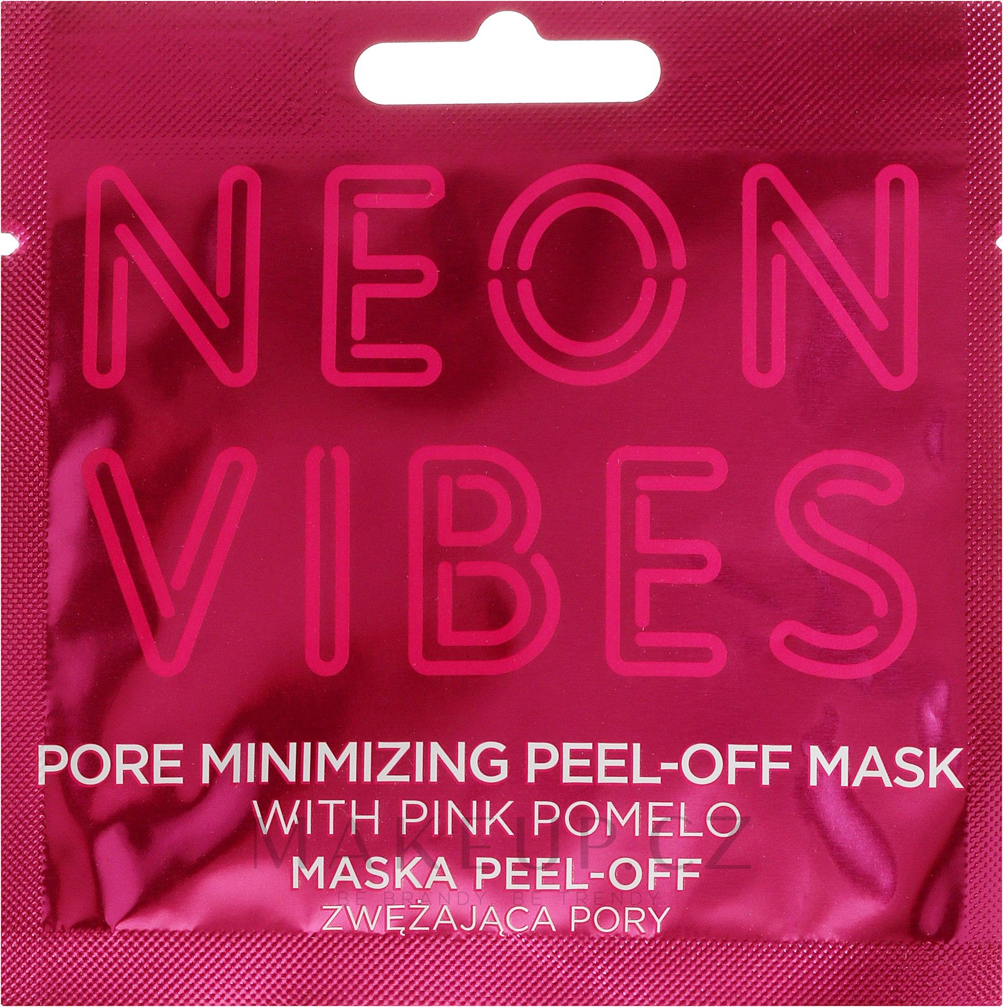 Maska na obličej - Marion Neon Vibes Pore Minimizing Peel-off Mask — foto 8 g