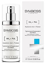 Parfémy, Parfumerie, kosmetika Liftingová maska na oči - Symbiosis London Tightening & Resplendent Eye Mask
