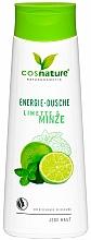 Parfémy, Parfumerie, kosmetika Osvěžující sprchový gel Limetka a máta - Cosnature Shower Gel Energy Mint & Lime