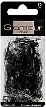 Parfémy, Parfumerie, kosmetika Gumičky na vlasy, 0261, černé - Glamour