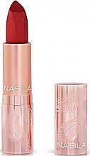 Parfémy, Parfumerie, kosmetika Matná rtěnka - Nabla Cult Matte Soft Touch Lipstick