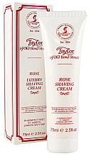 Parfémy, Parfumerie, kosmetika Krém na holení Růže - Taylor of Old Bond Street Rose Luxury Shaving Cream (v tubě)