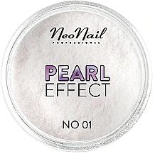 Parfémy, Parfumerie, kosmetika Pudr pro nehtovou modeláž - NeoNail Professional Pearl Effect