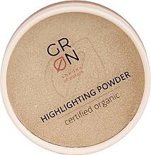 Parfémy, Parfumerie, kosmetika Kompaktní rozjasňovač - GRN Highlighting Powder