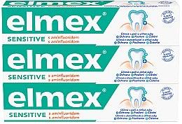 Parfémy, Parfumerie, kosmetika Sada - Elmex Sensitive Toothpaste (toothpaste/3x75ml)