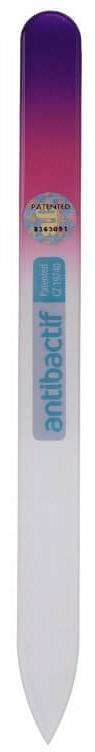 Skleněný pilník na nehty, 803 - Blazek Glass Antibactif Glass Nail File — foto N1