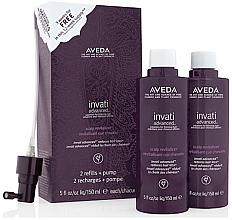 Parfémy, Parfumerie, kosmetika Sada - Aveda Invati Scalp Revitalizer (spray/2x150ml)