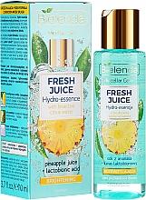 Parfémy, Parfumerie, kosmetika Hydroessence pro lesk pleti - Bielenda Fresh Juice Brightening Hydro Essence Pineapple