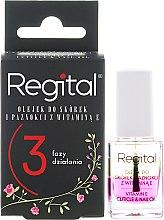 Parfémy, Parfumerie, kosmetika Třífázový olej na nehty a kůžičku - Regital Three-phase Cuticle And Nail Oil