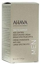 Parfémy, Parfumerie, kosmetika Omlazující hydratační krém pro muže SPF15 - Ahava Age Control Moisturizing Cream SPF15