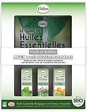 Parfémy, Parfumerie, kosmetika Sada esenciálních olejů Pro práci - Galeo To Help You Work Gift Set (ess/oil/3x10ml)