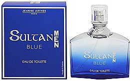 Parfémy, Parfumerie, kosmetika Jeanne Arthes Sultan Blue for Men - Toaletní voda