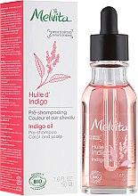 Parfémy, Parfumerie, kosmetika Olej na vlasy - Melvita Organic Pre-Shampoo Indigo Oil