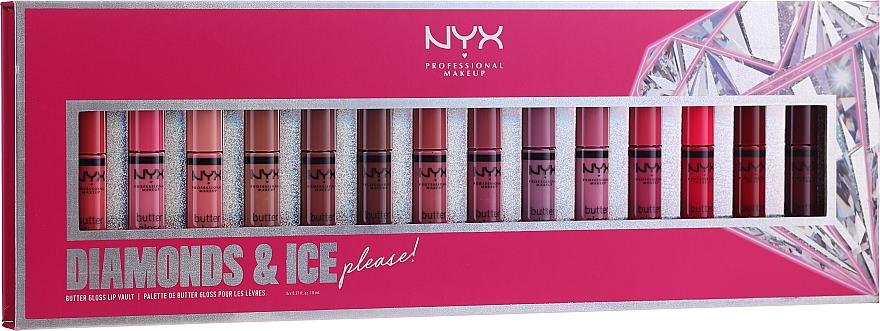 Sada - NYX Professional Makeup Diamonds & Ise (lip gloss/14x8ml)