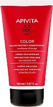 Parfémy, Parfumerie, kosmetika Kondicionér na ochranu barvy barvených vlasů medem a slunečnicí - Apivita Color Protect Conditioner With Sunflower & Honey