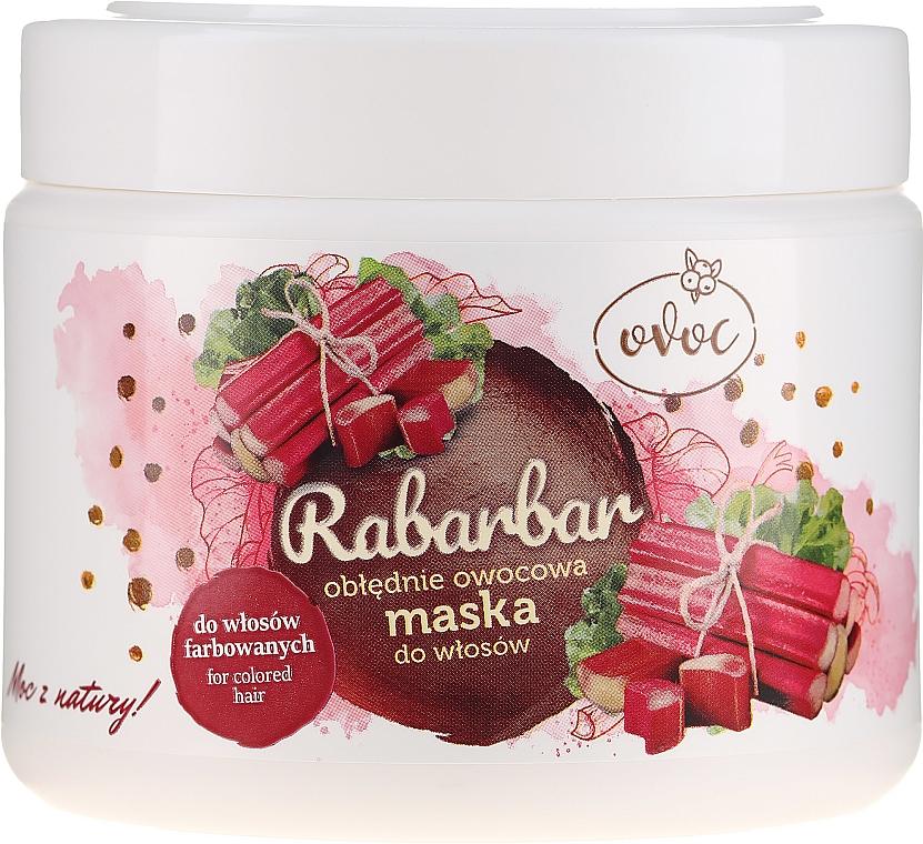 Maska na vlasy s extraktem z rebarbory, ovoce a bambuckého másla - Ovoc Rabarbar Mask — foto N1
