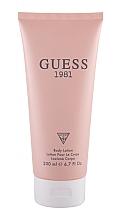 Parfémy, Parfumerie, kosmetika Guess 1981 - Lotion na tělo
