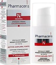 Parfémy, Parfumerie, kosmetika Speciální zklidňující a zpevňující krém na obličej - Pharmaceris N Active-Capilaril Forte Cream