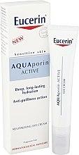 Parfémy, Parfumerie, kosmetika Obnovující krém na oční okolí - Eucerin AquaPorin Active Deep Long-lasting Hydration Revitalising Eye Cream
