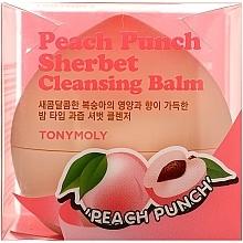 Parfémy, Parfumerie, kosmetika Broskvový sorbet pro čištění pleti - Tony Moly Peach Punch Sherbet Cleansing Balm