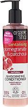 """Parfémy, Parfumerie, kosmetika Kondicionér na vlasy """"Granátové jablko a pačuli"""" - Organic Shop Invigorating Conditioner"""