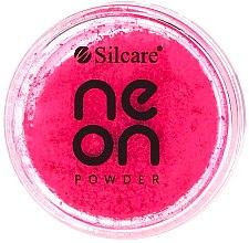 Parfémy, Parfumerie, kosmetika Pudr na nehty - Silcare Neon Powder