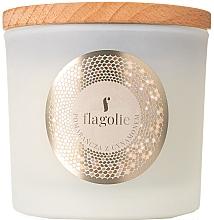 Parfémy, Parfumerie, kosmetika Aromatická svíčka ve skle Pomeranč a skořice - Flagolie Fragranced Candle Orange & Cinnamon
