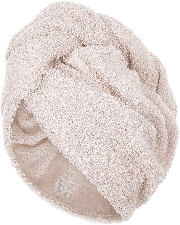Turban na vlasy, béžový - MakeUp