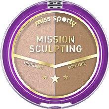 Parfémy, Parfumerie, kosmetika Konturovací paleta - Miss Sporty Mission Sculpting