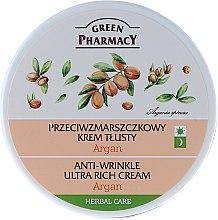 """Parfémy, Parfumerie, kosmetika Krém na obličej ultra-výživný """"Argan"""" - Green Pharmacy Anti-Wrinkle Ultra Rich Cream"""