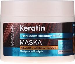 Parfémy, Parfumerie, kosmetika Maska pro matné a křehké vlasy - Dr. Sante Keratin Mask