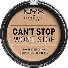 Parfémy, Parfumerie, kosmetika Kompaktní pudr na obličej - NYX Professional Makeup Can't Stop Won't Stop Powder Foundation