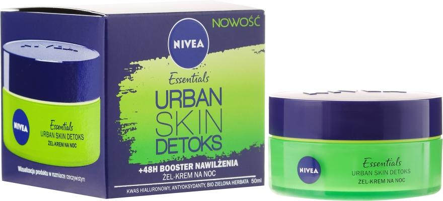 Noční detox-krém na obličej - Nivea Essentials Urban Skin Detox Night Cream