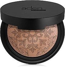 Parfémy, Parfumerie, kosmetika Bronzující pudr - Aden Cosmetics Glowing Bronzing Powder