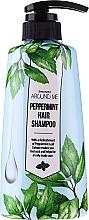 Parfémy, Parfumerie, kosmetika Šampon na mastné vlasy - Welcos Around Me Peppermint Fresh Hair Shampoo