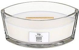 Parfémy, Parfumerie, kosmetika Aromatická svíčka ve sklenici - Woodwick Hearthwick Flame Ellipse Candle Magnolia