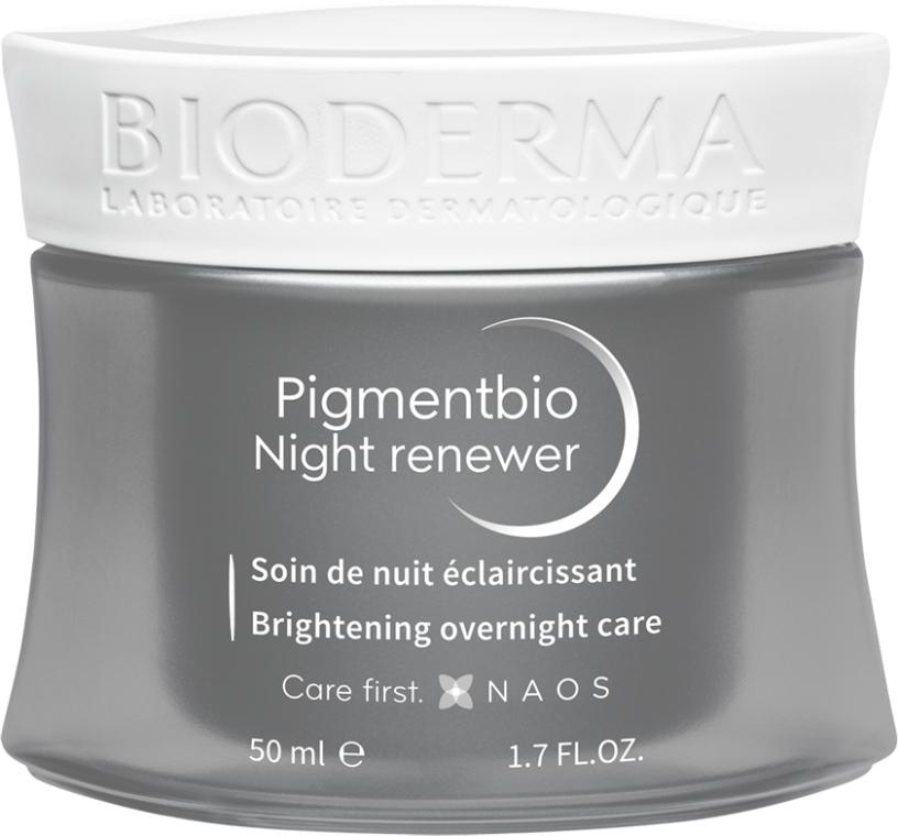 Krém na obličej - Bioderma Pigmentbio Night Renewer Brightening Overnight Care