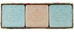 Parfémy, Parfumerie, kosmetika Sada - Essencias De Portugal Aromas Collection Summer Set (soap/3x80g)
